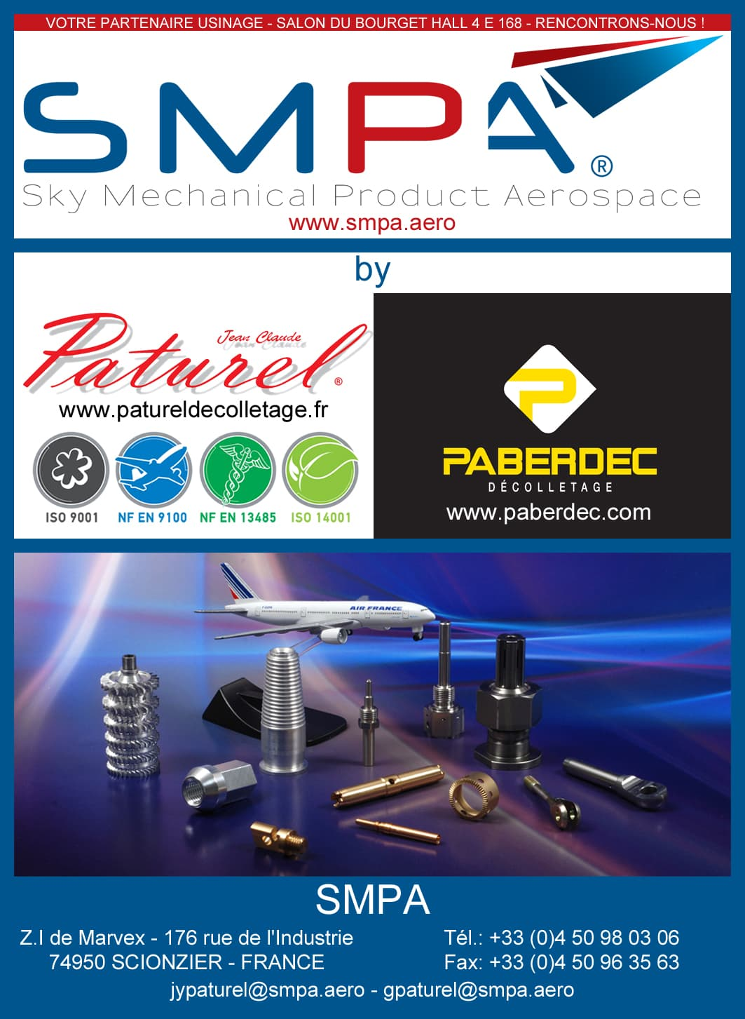 SMPA present at the Paris Air Show